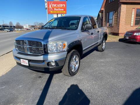 2007 Dodge Ram Pickup 1500 for sale at Approved Automotive Group in Terre Haute IN