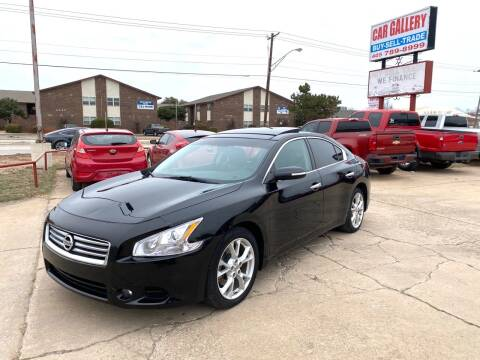 2014 Nissan Maxima for sale at Car Gallery in Oklahoma City OK