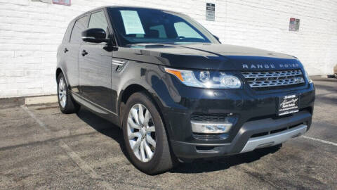 2016 Land Rover Range Rover Sport for sale at ADVANTAGE AUTO SALES INC in Bell CA