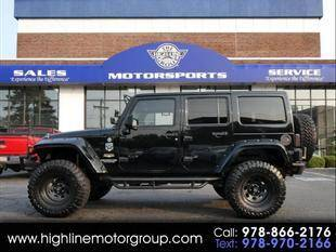 2013 Jeep Wrangler Unlimited for sale at Highline Group Motorsports in Lowell MA