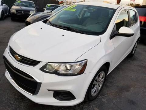 2017 Chevrolet Sonic for sale at Ultimate Car Solutions in Pompano Beach FL