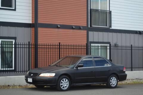 2002 Honda Accord for sale at Skyline Motors Auto Sales in Tacoma WA
