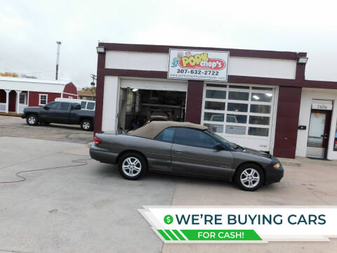 2000 Chrysler Sebring for sale at Pork Chops Truck and Auto in Cheyenne WY
