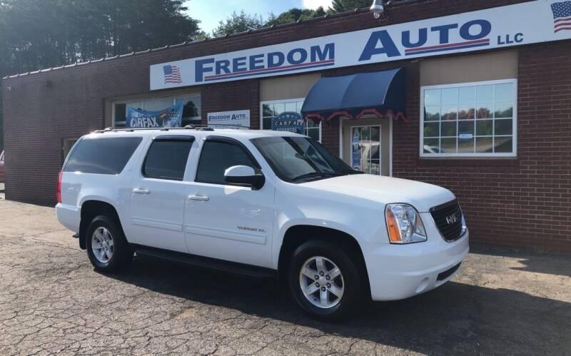 2013 GMC Yukon XL for sale at FREEDOM AUTO LLC in Wilkesboro NC