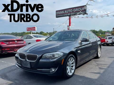 2011 BMW 5 Series for sale at Divan Auto Group in Feasterville Trevose PA