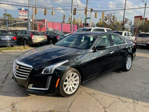 2018 Cadillac CTS for sale at SKYLINE AUTO in Detroit MI