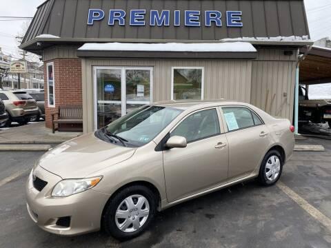 2009 Toyota Corolla for sale at Premiere Auto Sales in Washington PA
