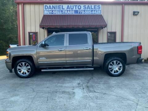 2015 Chevrolet Silverado 1500 for sale at Daniel Used Auto Sales in Dallas GA