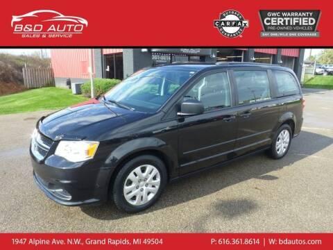 2016 Dodge Grand Caravan for sale at B&D Auto Sales Inc in Grand Rapids MI