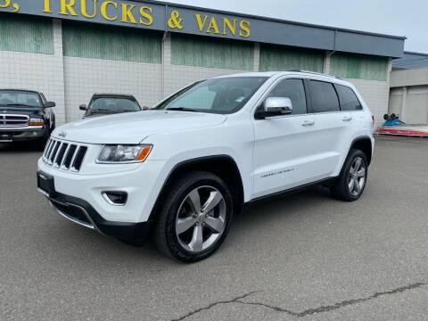 2014 Jeep Grand Cherokee for sale at Vista Auto Sales in Lakewood WA