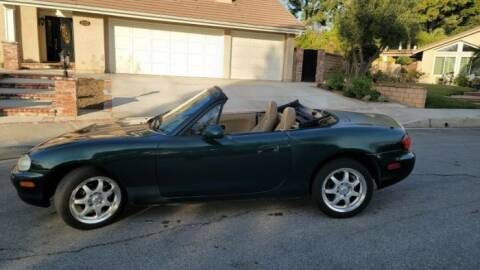 1999 Mazda MX-5 Miata for sale at Classic Car Deals in Cadillac MI