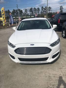 2015 Ford Fusion for sale at Gralin Hampton Auto Sales in Summerville SC