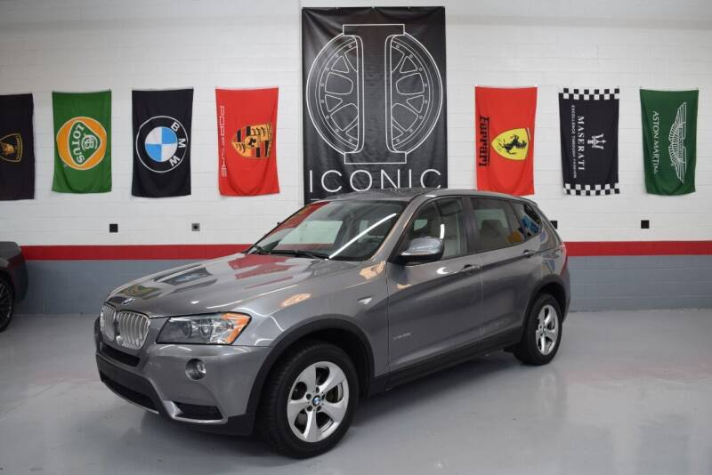 2011 BMW X3 for sale at Iconic Auto Exchange in Concord NC