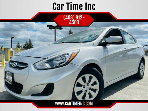 2016 Hyundai Accent for sale at Car Time Inc in San Jose CA