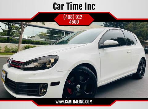 2011 Volkswagen GTI for sale at Car Time Inc in San Jose CA