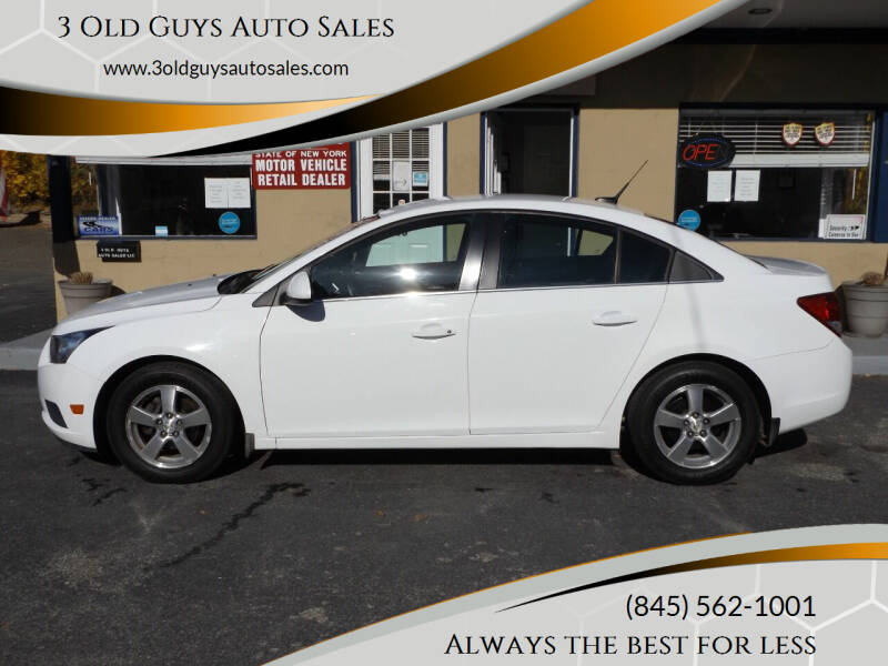 2012 Chevrolet Cruze for sale at 3 Old Guys Auto Sales in Newburgh NY