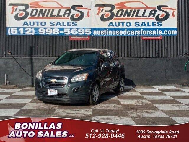 2016 Chevrolet Trax for sale at Bonillas Auto Sales in Austin TX