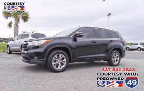 2015 Toyota Highlander for sale at Courtesy Value Pre-Owned I-49 in Lafayette LA