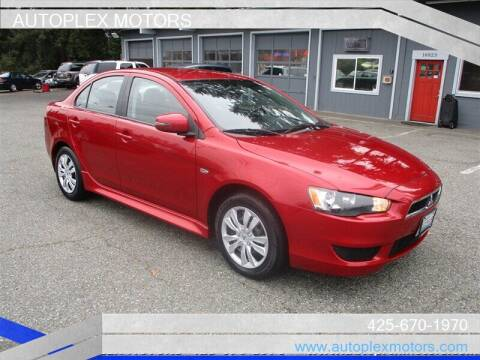 2015 Mitsubishi Lancer for sale at Autoplex Motors in Lynnwood WA