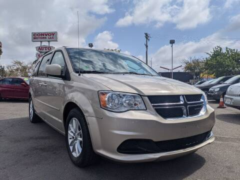 2016 Dodge Grand Caravan for sale at Convoy Motors LLC in National City CA