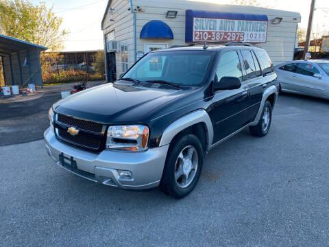 2008 Chevrolet TrailBlazer for sale at Silver Auto Partners in San Antonio TX