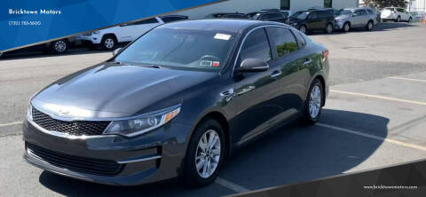 2016 Kia Optima for sale at Bricktown Motors in Brick NJ