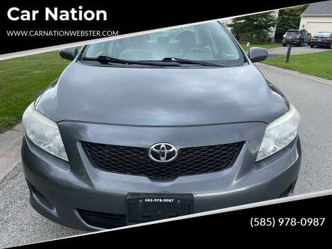 2009 Toyota Corolla for sale at Car Nation in Webster NY