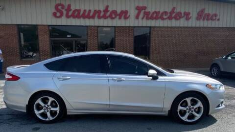 2012 Ford Fusion for sale at STAUNTON TRACTOR INC in Staunton VA