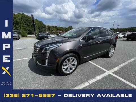 2019 Cadillac XT5 for sale at Impex Auto Sales in Greensboro NC