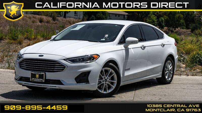 2019 Ford Fusion Hybrid for sale in Montclair, CA