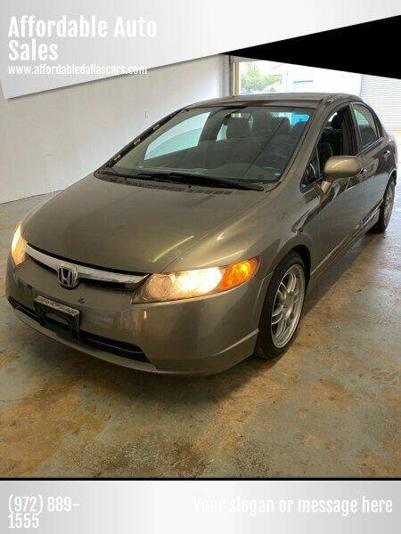 2007 Honda Civic for sale at Affordable Auto Sales in Dallas TX