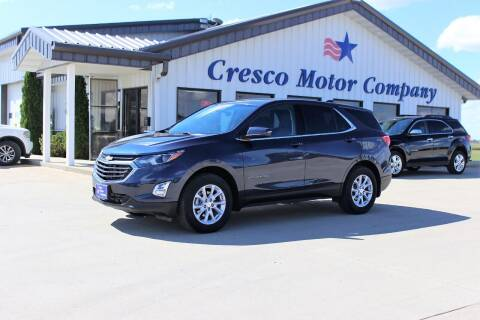 2018 Chevrolet Equinox for sale at Cresco Motor Company in Cresco IA