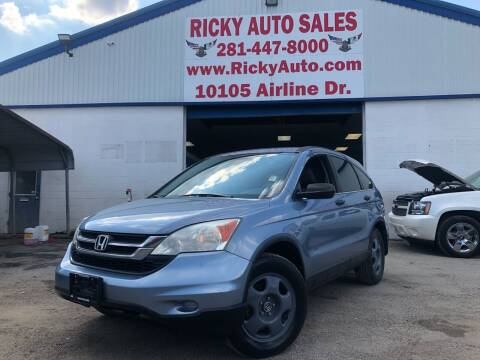 2010 Honda CR-V for sale at Ricky Auto Sales in Houston TX
