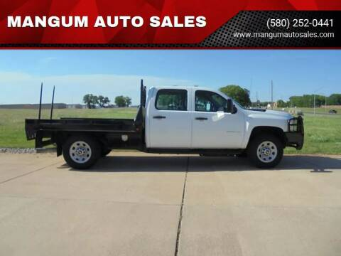 2012 Chevrolet Silverado 2500HD for sale at MANGUM AUTO SALES in Duncan OK