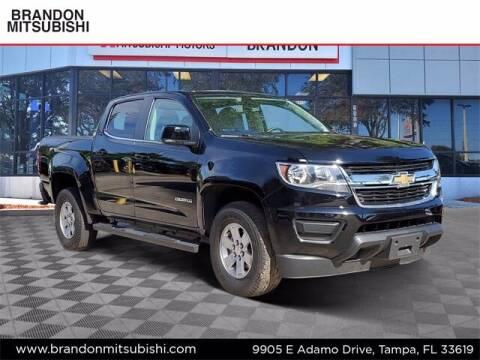 2018 Chevrolet Colorado for sale at Brandon Mitsubishi in Tampa FL