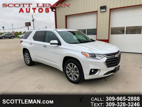 2020 Chevrolet Traverse for sale at SCOTT LEMAN AUTOS in Goodfield IL