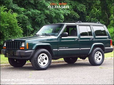 2000 Jeep Cherokee for sale at M2 Auto Group Llc. EAST BRUNSWICK in East Brunswick NJ