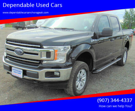 2018 Ford F-150 for sale at Dependable Used Cars in Anchorage AK