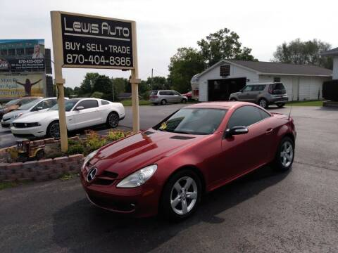 2006 Mercedes-Benz SLK for sale at LEWIS AUTO in Mountain Home AR