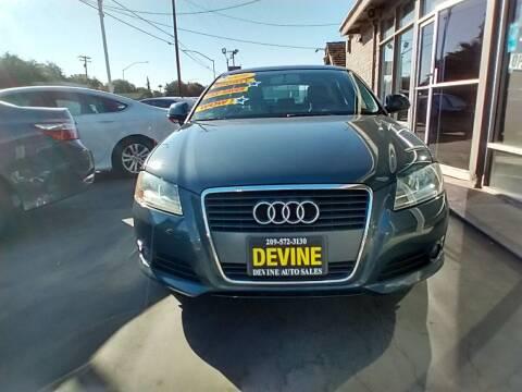 2009 Audi A3 for sale at Devine Auto Sales in Modesto CA
