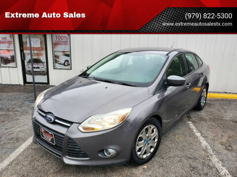 2012 Ford Focus for sale at Extreme Auto Sales in Bryan TX