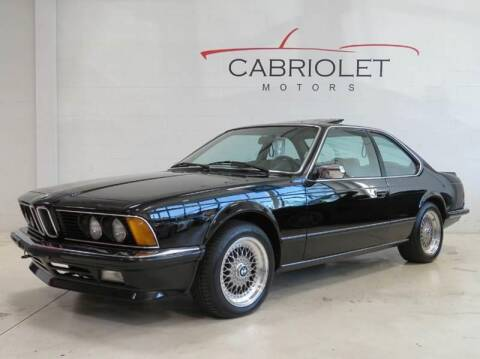 1984 BMW 6 Series for sale at Cabriolet Motors in Morrisville NC