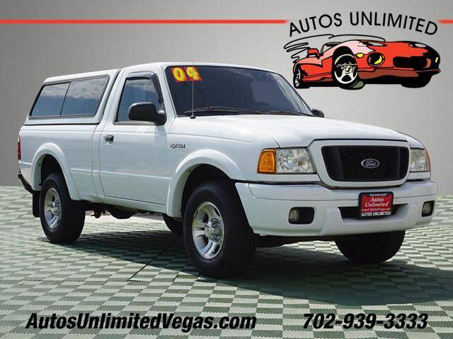 2004 Ford Ranger for sale at Autos Unlimited in Las Vegas NV