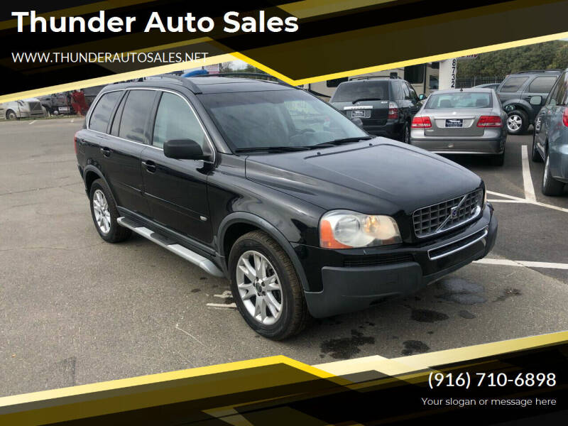 2006 Volvo XC90 for sale at Thunder Auto Sales in Sacramento CA