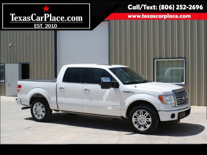 2011 Ford F-150 for sale at TEXAS CAR PLACE in Lubbock TX