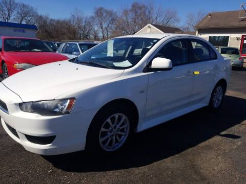 2010 Mitsubishi Lancer for sale at Germantown Auto Sales in Carlisle OH