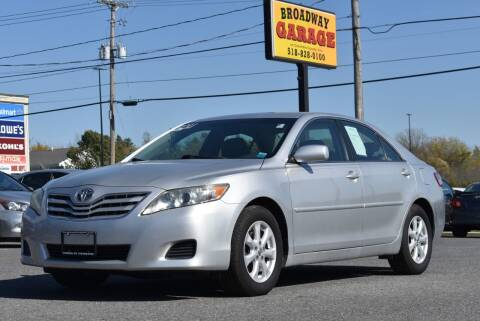 2011 Toyota Camry for sale at Broadway Garage of Columbia County Inc. in Hudson NY