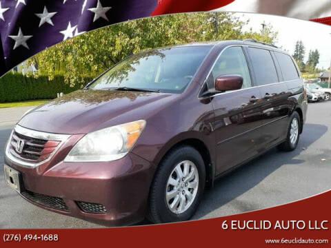 2009 Honda Odyssey for sale at 6 Euclid Auto LLC in Bristol VA