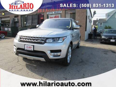 2016 Land Rover Range Rover Sport for sale at Hilario's Auto Sales in Worcester MA