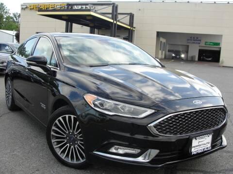 2017 Ford Fusion Energi for sale at Perfect Auto in Manassas VA